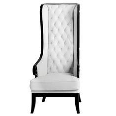 Black & White Elegant Chair