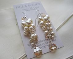 FineNFleurie earrings