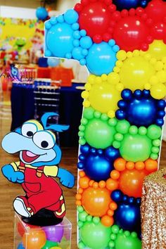 Check out this fun Muppet Babies 1st birthday party! The party decorations are excellent! See more party ideas and share yours at CatchMyParty.com #catchmyparty #partyideas #muppetbabies #muppetbabiesparty #1stbirthdayparty Boys 1st Birthday Party Ideas, Baby 1st Birthday, Birthday Party Decorations, Cookie Monster Party, Sesame Street Party, Muppet Babies, 1st Birthdays, Baby Party, Check