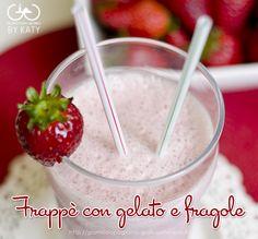 Frappè con fragole e gelato