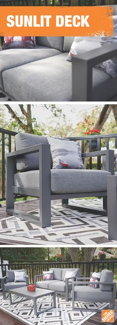 Get ready to enjoy the warm and sunny season right from the comfort of your new deck. Get inspired at homedepot.ca. #BackyardProud