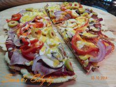 Smaki Edyty: Pizza z patelni