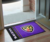 Baltimore Ravens Uniform Inspired Starter Door Mat. $19.99 Only.