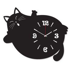 """Настенные часы """"КОШКИ"""" Цвет часов может быть: красный, синий, желтый, зеленый, черный, белый. Размер: до 30х45см"""