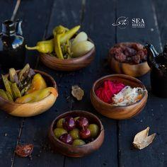 Selection of pickles  #seabreezebaku #shorehouse #nardaran #beatgroup #baku #azerbaijan #food #cuisine #restaurants #nationalcuisine #traditionalcuisine #snacks #pickles #coldsnacks
