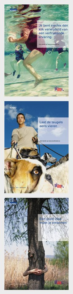 Interne motivatie :: KPMG :: Postercampagne.