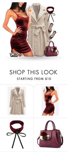 """yoins date night"" by kayira ❤ liked on Polyvore featuring Kate Spade, yoins and loveyoins"