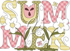 Royalty Free Clipart Image of the Word Summer #1180534   Clipart.com Free Clipart Images, Royalty Free Clipart, Royalty Free Images, Summer Clipart, Most Beautiful Words, One Image, Clip Art, Kids Rugs, Kid Friendly Rugs