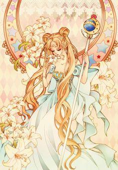 sailor moon, anime, and usagi tsukino image