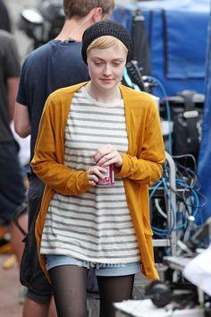 "Dakota Fanning films her latest film ""Now is Good"" in Brighton, UK, July 26 - dakota-fanning Photo"