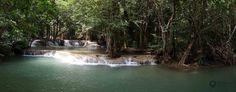 Huay Meakamin Waterfalls Es gibt mehrere Wasserfällen, in denen man baden kann