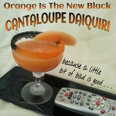 The MARTINI DIVA: Orange Is The New Black Cocktail!