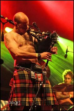 The Real McKenzies ...one of my favorite bands is going to be playing here!....