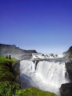 Cataratas Gullfoss en Islandia