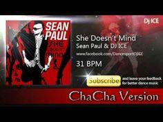 ChaCha - She Doesn't Mind (31 BPM) Sean Paul, Mindfulness, Music, Modern, Youtube, Musica, Musik, Trendy Tree, Muziek