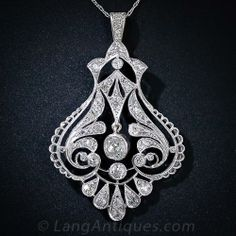 Edwardian Lavaliere Necklace - 90-1-4348 - Lang Antiques
