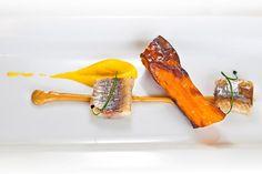 Zanahoria fosil, sardina ahumada y cacahuete