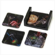 Michael Godard Glass Coasters