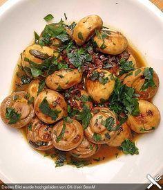 Knoblauch-Champignons, ein schmackhaftes Rezept aus der Kategorie Snacks und kleine Gerichte. Bewertungen: 4. Durchschnitt: Ø 3,8. (Recetas Fitness)