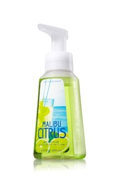 NEW Malibu Citrus Gentle Foaming Hand Soap - Get all the suds without the sand with an invigorating blend of key lime, orange and white grapefruit <3   #LUVBBW