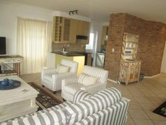 Contact  on 044 382 0301 for more information. 3 Bedroom House, One Bedroom, Enclosed Patio, Knysna, Ground Floor, Living Area, Islands, Flooring, Furniture