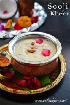 Sooji Ki Kheer or Rava Payasam or Semolina Kheer is easy and quick dessert for any occasion or festival.  Try this delicious dessert this festive season