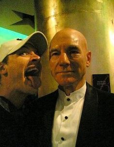 I got Licking Wax Patrick Stewart Tom Hardy! Which Tom Hardy MySpace Photo Are You?  I am so glad this exists.