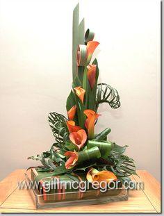 Fun flowers with Equisetum