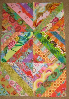 String Quilt Blocks Tutorial | We Know How To Do It