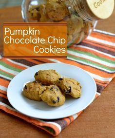 pumpkin chocolate chip cookies rfrd