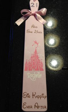 Disney Sigma Kappa 21st Paddle                                                                                                                                                                                 More