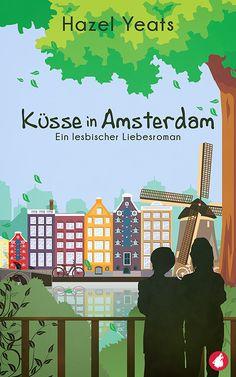 """""""Küsse in Amsterdam"""" von Hazel Yeats / Als Cara auf einen Weihnachtsmann trifft, wird ihr schnell klar, dass unter dem Kostüm eine attraktive Frau steckt, die, wie sich später herausstellt, eine erfolgreiche Kinderbuchautorin ist. Das zweite Treffen zwischen den beiden endet in einem heißen Kuss. Bis Cara Panik bekommt und Judes Herz bricht. Ist das das Ende der Beziehung oder wird es für die beiden noch mehr Küsse in Amsterdam geben? (Veröffentlichungsdatum: Feb 2018)"""