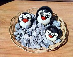 Penguin pebbles