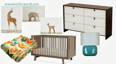 modern boy nursery ideas