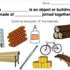 Science Centres about structures with experiment sheet. ...