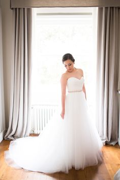 love the layers of #tulle on this gown by http://www.jlmcouture.com #wedding-dress #fashion Photography: Jessica Burke - www.jessicaburke.com  Read More: http://stylemepretty.com/2013/10/17/tuscany-italy-wedding-from-jessica-burke/