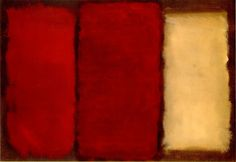 Untitled Red by Mark Rothko