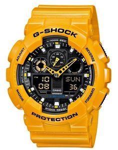 Casio G-Shock GA100A watch
