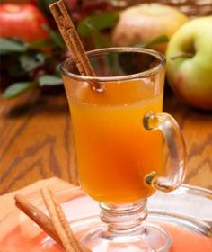 Spiced Cider Punch—let it simmer on a cold, gloomy day for low-calorie comfort!