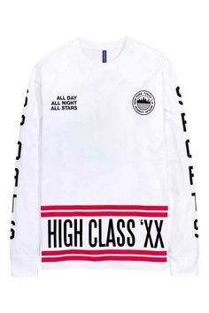 Camisola de mangas compridas | H&M
