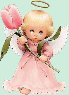 Imágenes bonitos de ángeles con movimientos - Gifs de Amor