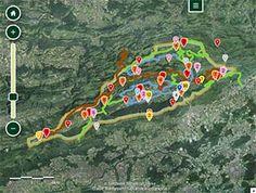 Interaktive Karte Naturpark Thal City Photo, Hiking, Painting, Interactive Map, Cards, Walks, Painting Art, Trekking, Paintings