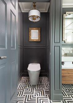 Baths Interior, Bathroom Interior Design, Modern Interior Design, Wc Design, Small Toilet Room, Bathroom Floor Tiles, Bathroom Inspiration, Bathroom Ideas, Beautiful Bathrooms