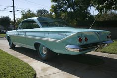 1961 Chevy Bel Air Coupe Maintenance/restoration of old/vintage vehicles: the material for new cogs/casters/gears/pads could be cast polyamide which I (Cast polyamide) can produce. My contact: tatjana.alic@windowslive.com