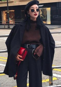 ❤ Find more fashion outfits, womens jeans and fashion show, fashion illustration and clothing spring. And more fashion style dress, danner boots and black ladies bag. Mode Outfits, Fall Outfits, Fashion Outfits, Womens Fashion, Fashion Trends, Artsy Outfits, Look Fashion, Korean Fashion, Look Girl