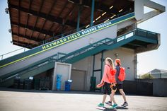 RUNAWAYS: Eugene, OR: Hayward Field - Parker Stinson and Megan Patrignelli