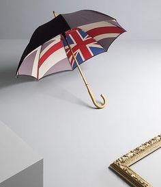 We love Paul Smith's Union Jack umbrella!    You can stand under my umbrella...ella...ella.......