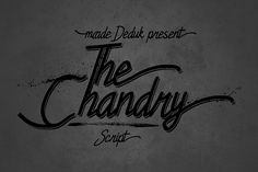 Chandry Fonts from FontBundles.net