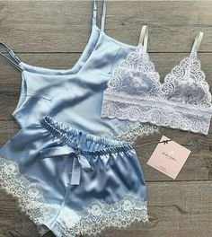 Jolie Lingerie, Lingerie Outfits, Pretty Lingerie, Lingerie Set, Sexy Pajamas, Pajamas Women, Pyjamas, Cute Sleepwear, Lingerie Sleepwear