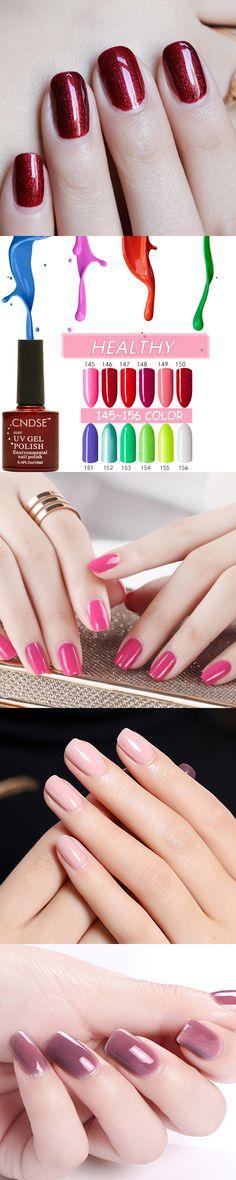 Nail Gel Polish UV&LED Fashion Beauty Women 132 Colors 10ML/Bottle Gel Nail Long lasting Soak Off Varnish UV Gel Nail Polish